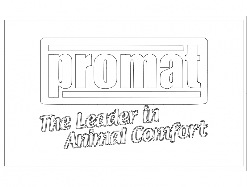 Promat Logo Andy Likes dxf File