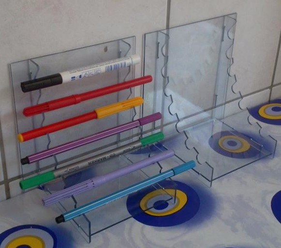 Pen Stands 3d Puzzle CDR File