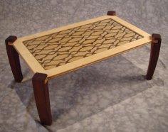 mesa tamanho certo Table dxf file