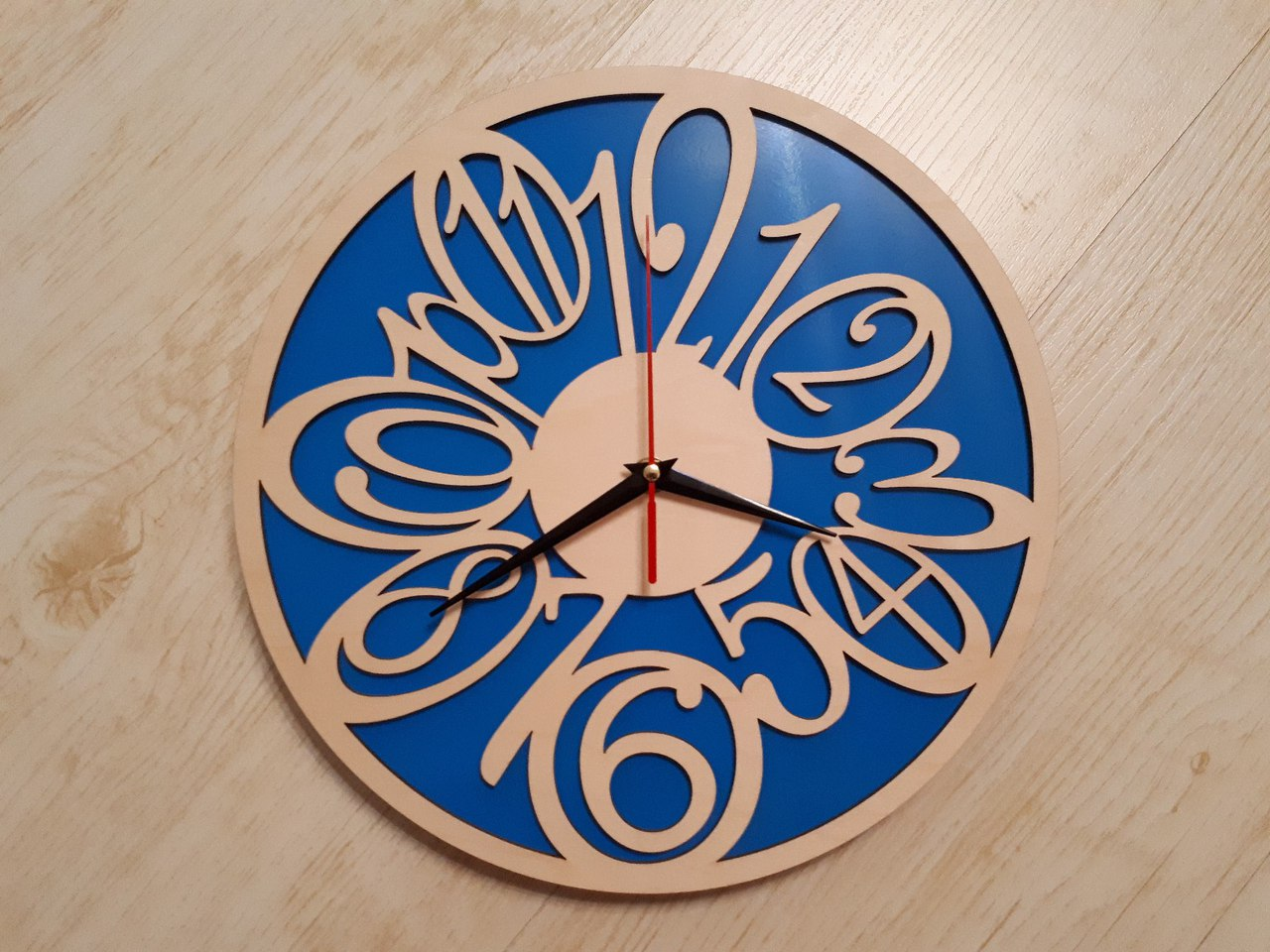 Plywood Clock Face Dxf File Free Download 3axisco