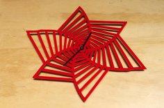 Laser Cut Acrylic Clock Face Free Vector