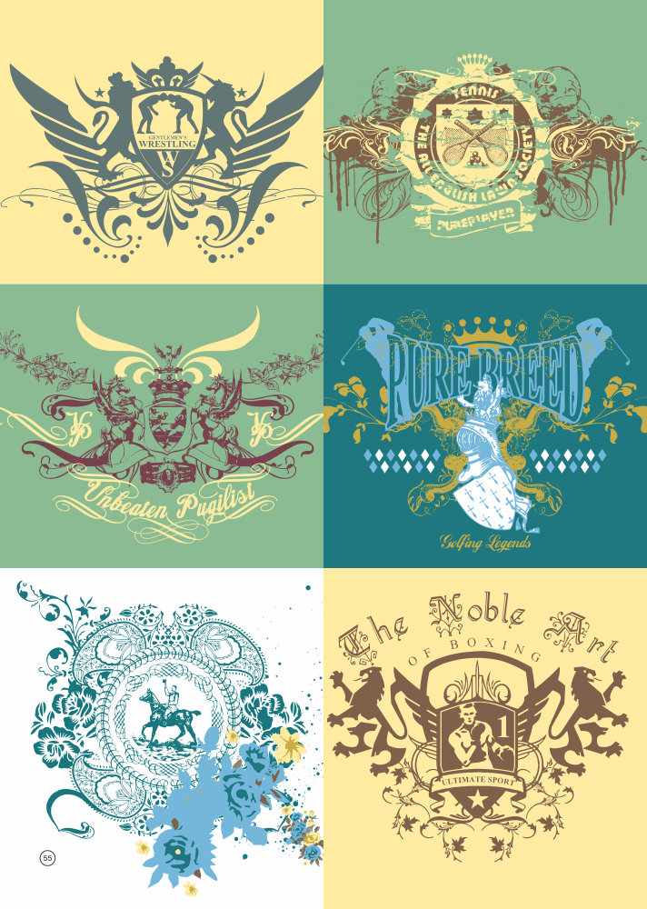 T Shirt Printing Designs Vector Set Free Vector Cdr Download 3axis Co