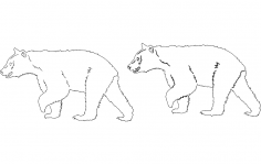 Animals 3 dxf File
