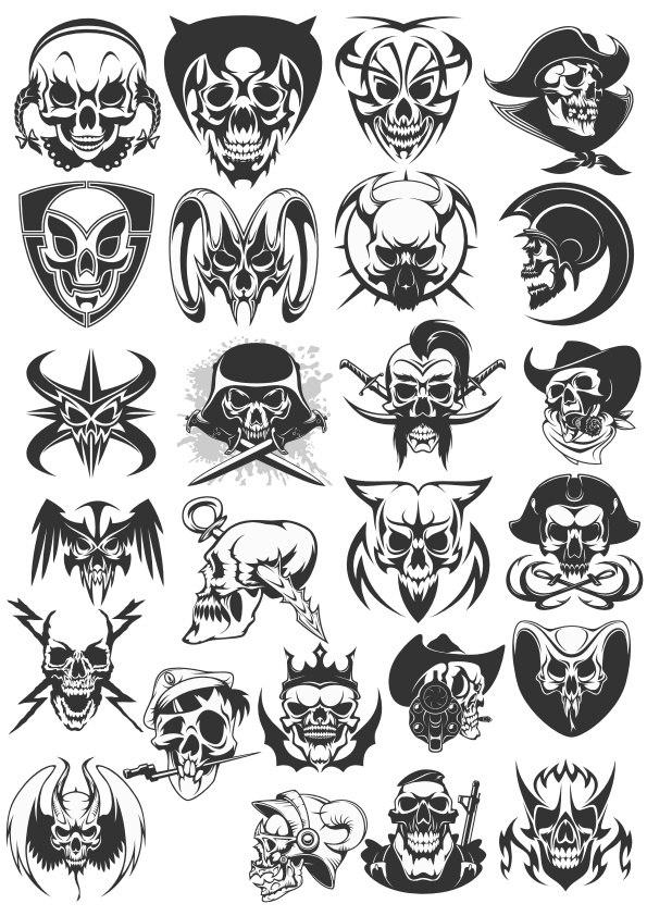Skulls Dead Coreldraw Vector ( cdr) file free download - 3Axis co