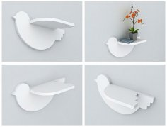 Bird Shelf 20mm CDR File