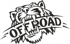 Wild Tiger Offroad Vector CDR File