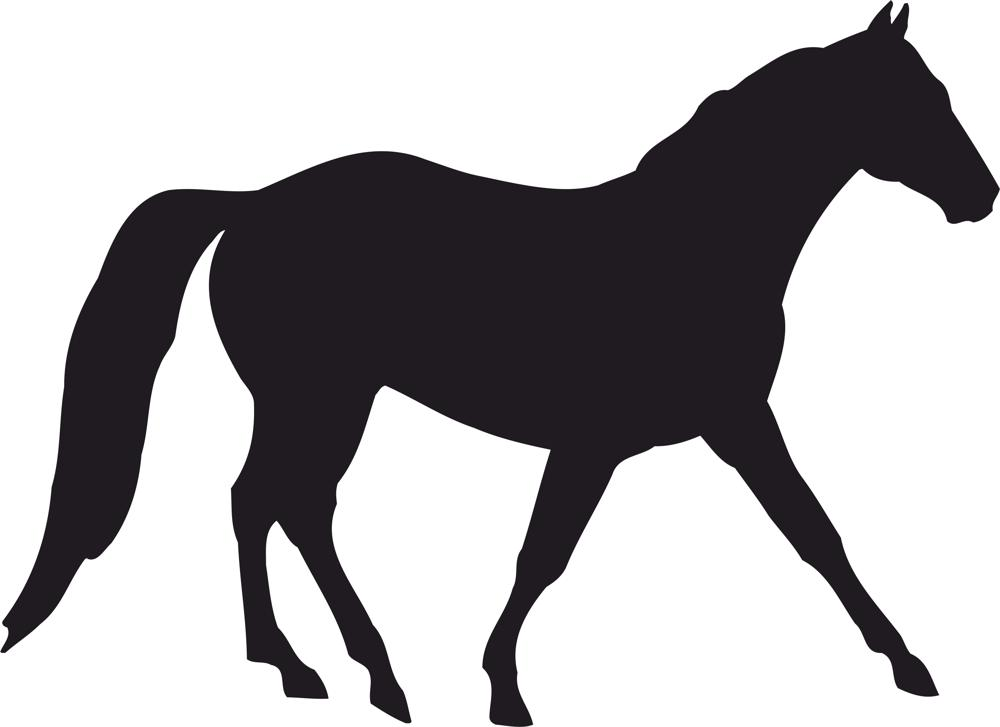Horse Silhouette Vector Free Vector Cdr Download 3axis Co