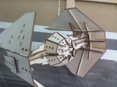 Tie Interceptor dxf File