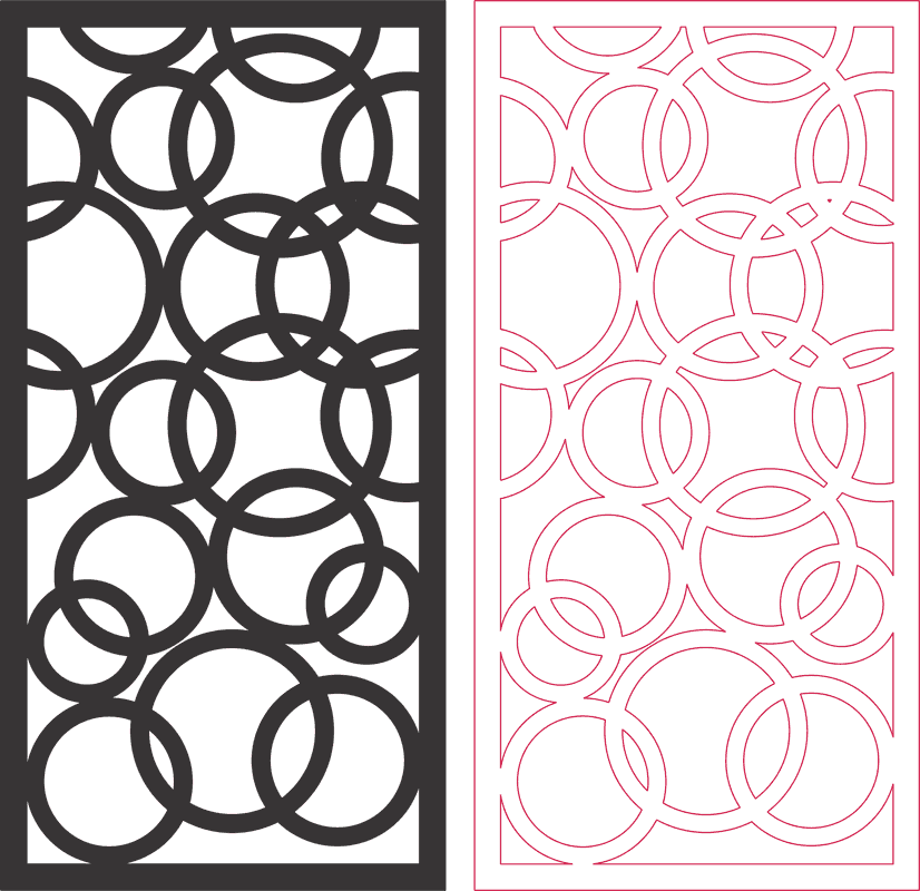 Dxf Pattern Designs 2d 158 DXF File Free Download - 3axis co