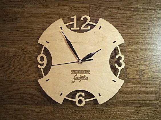 Laser Cut Clock Dxf File Free Download 3axis Co
