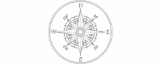 Compass dxf File