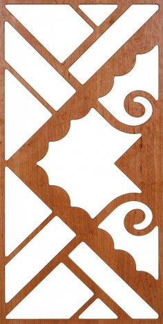 Panel 300-v141 dxf File