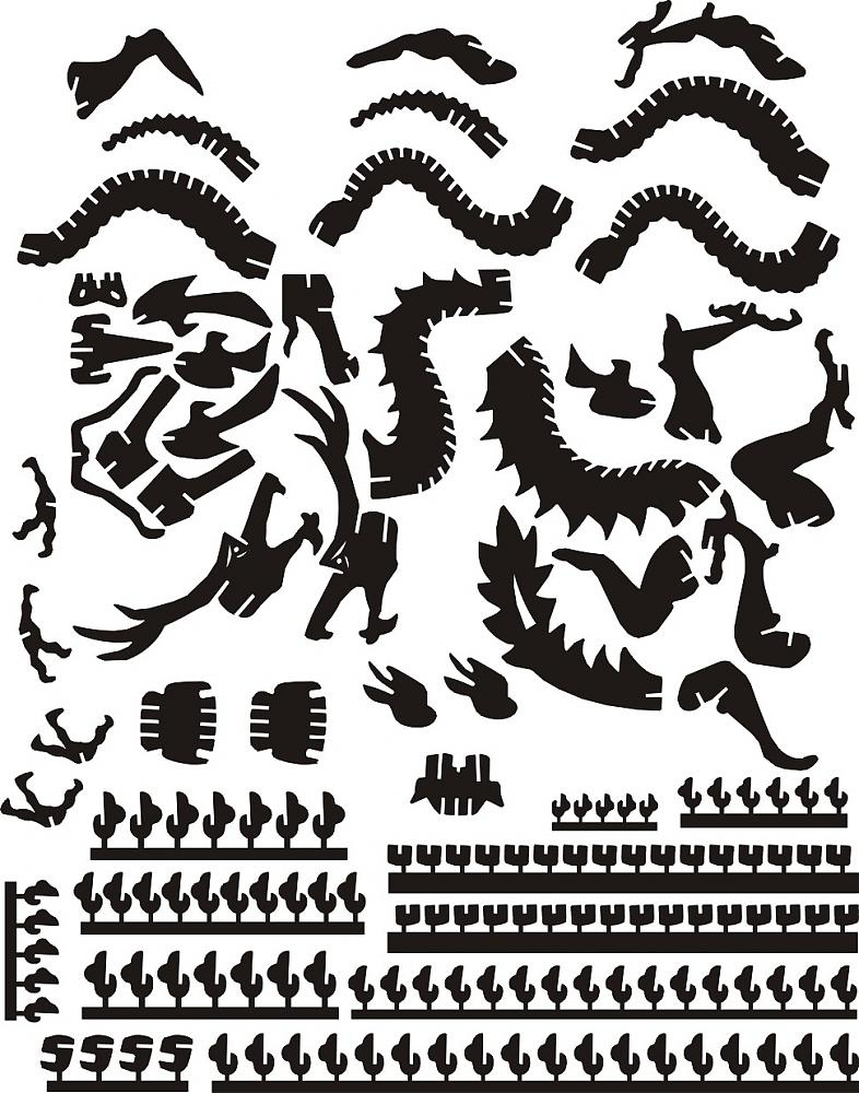Dragon dxf File Free Download - 3axis co