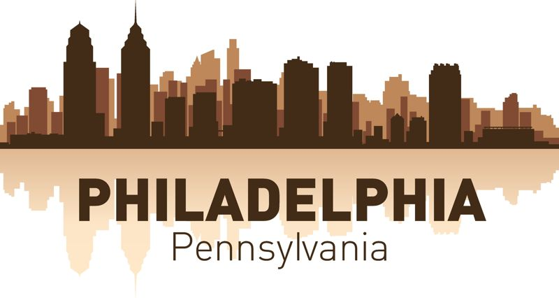 philadelphia skyline city silhouette vector free vector cdr download -  3axis.co  3axis.co