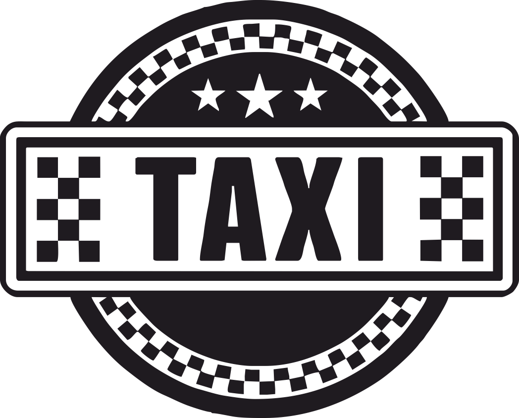 Taxi Sign Vector Art CDR File