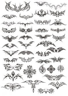 Tattoos Vector Pack CDR File