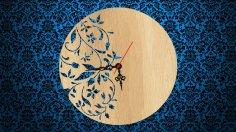 Floral Clock CDR File