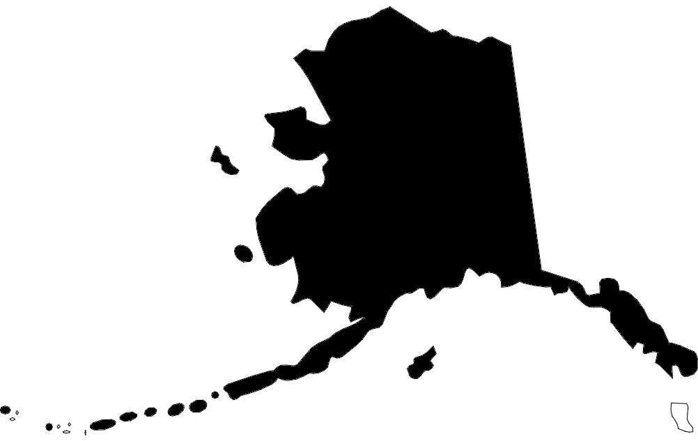 Us State Map Alaska Ak Dxf File Free Download 3axisco - Us-map-alaska-state