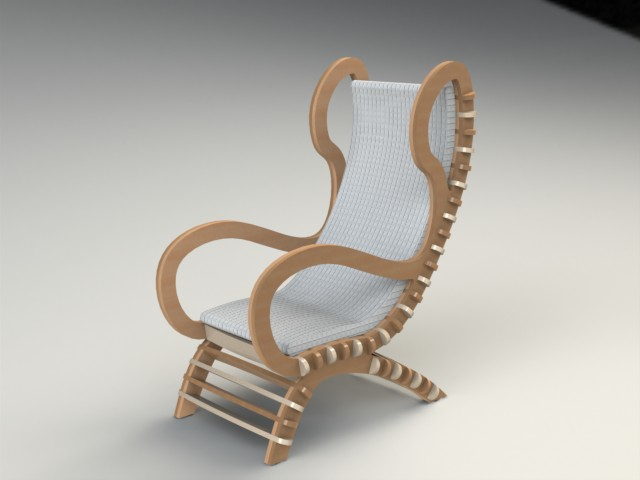 Chair 3 Fixed Clean Filat Dxf File Free Download 3axis Co
