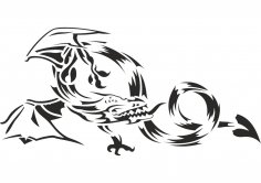 Animal Totem Vector CDR File