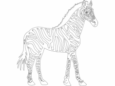 zebra dxf File