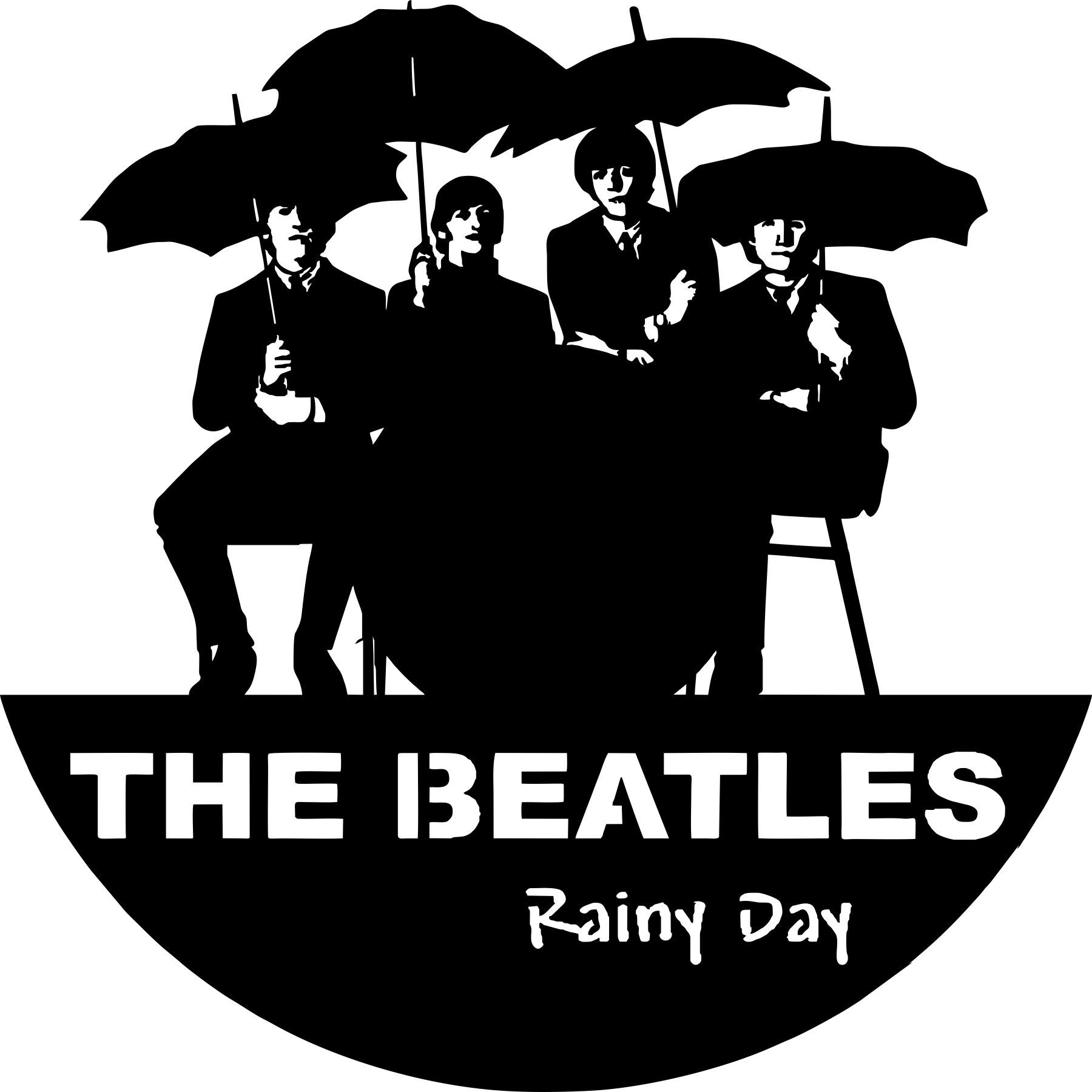 epic beatles wall clocks free vector cdr download