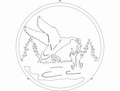 Ganso (Goose) dxf File