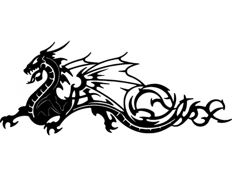 Dragon 2 dxf File Free Download - 3axis.co