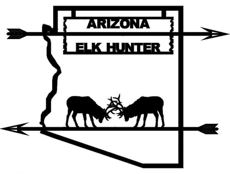 Arizona Elk Hunter dxf File Free Download - 3axis co