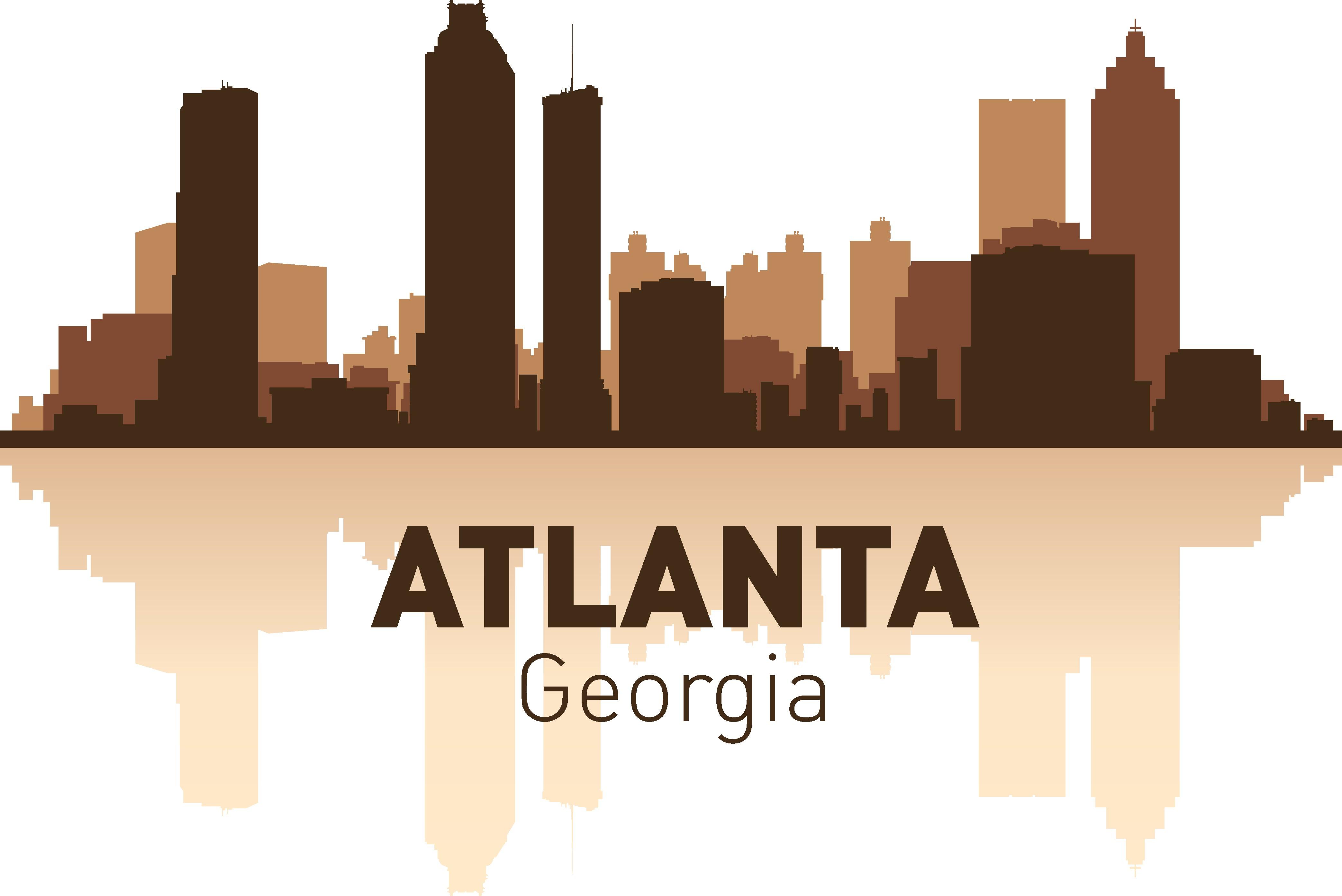 Atlanta Skyline Free Vector Cdr Download 3axis Co