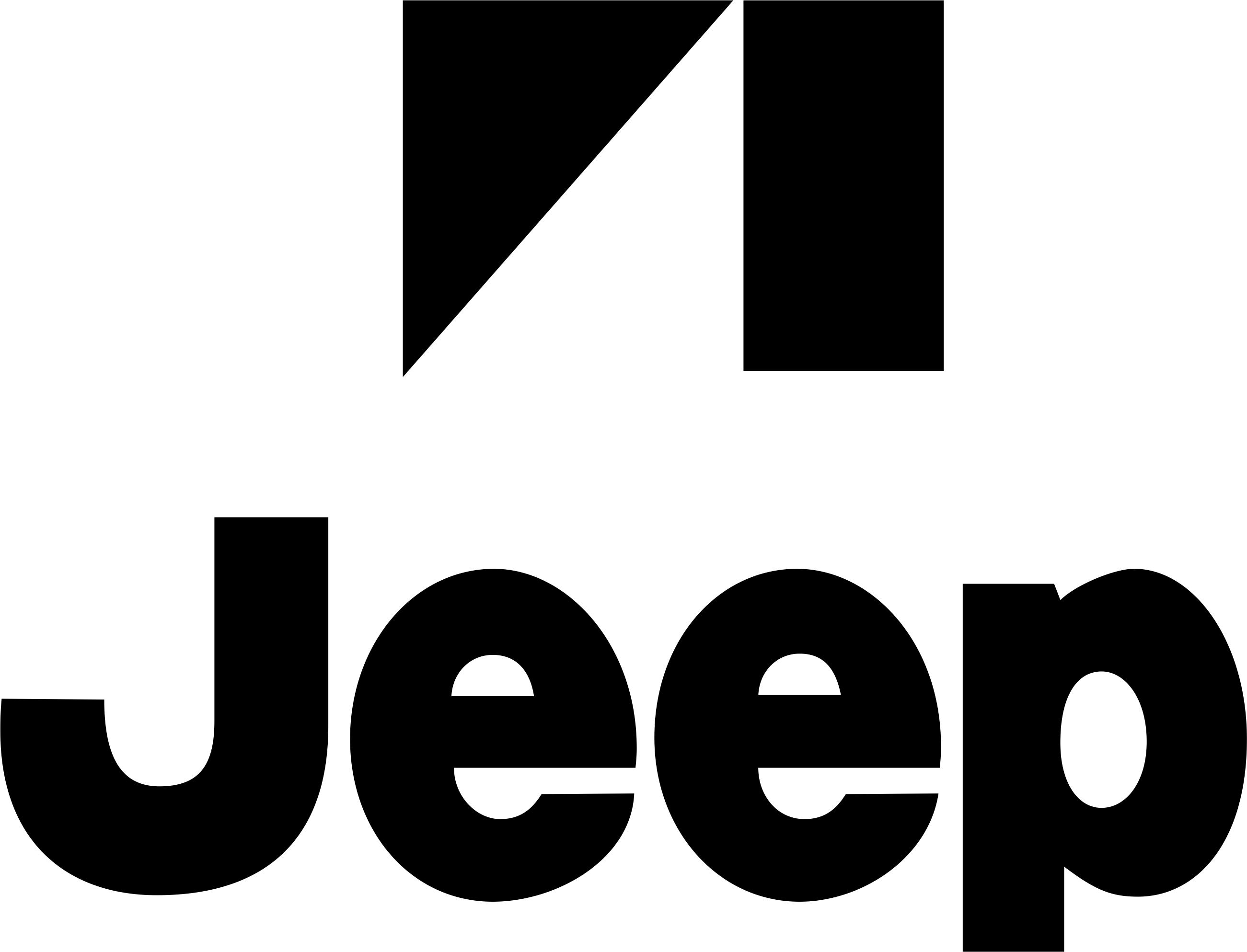 Jeep logo vector art CDR File