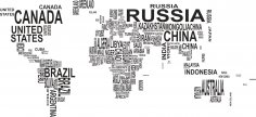 World Map Vector CDR File