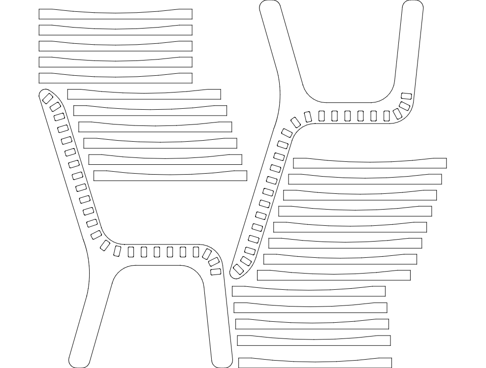 Desk Chair Dxf File Free Download 3axis Co