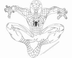 Spidey (Spider-Man) dxf File