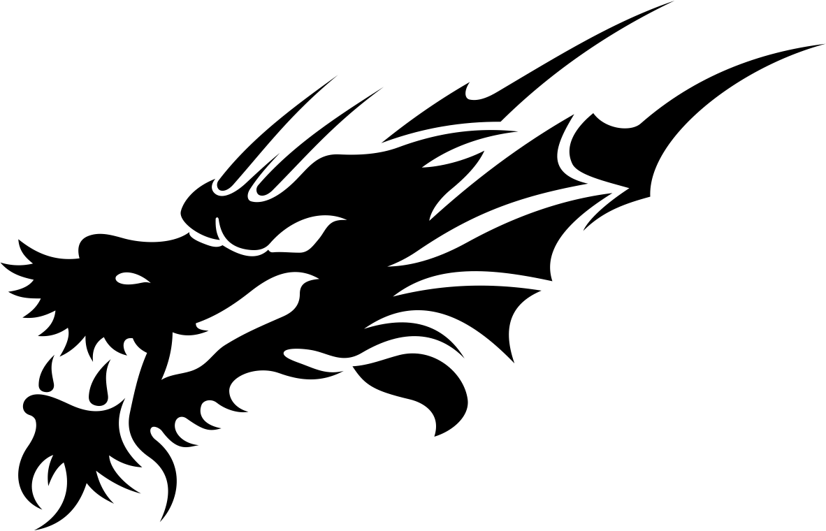 Tribal Dragon Tattoo Design Vector Free Vector Cdr Download 3axis Co