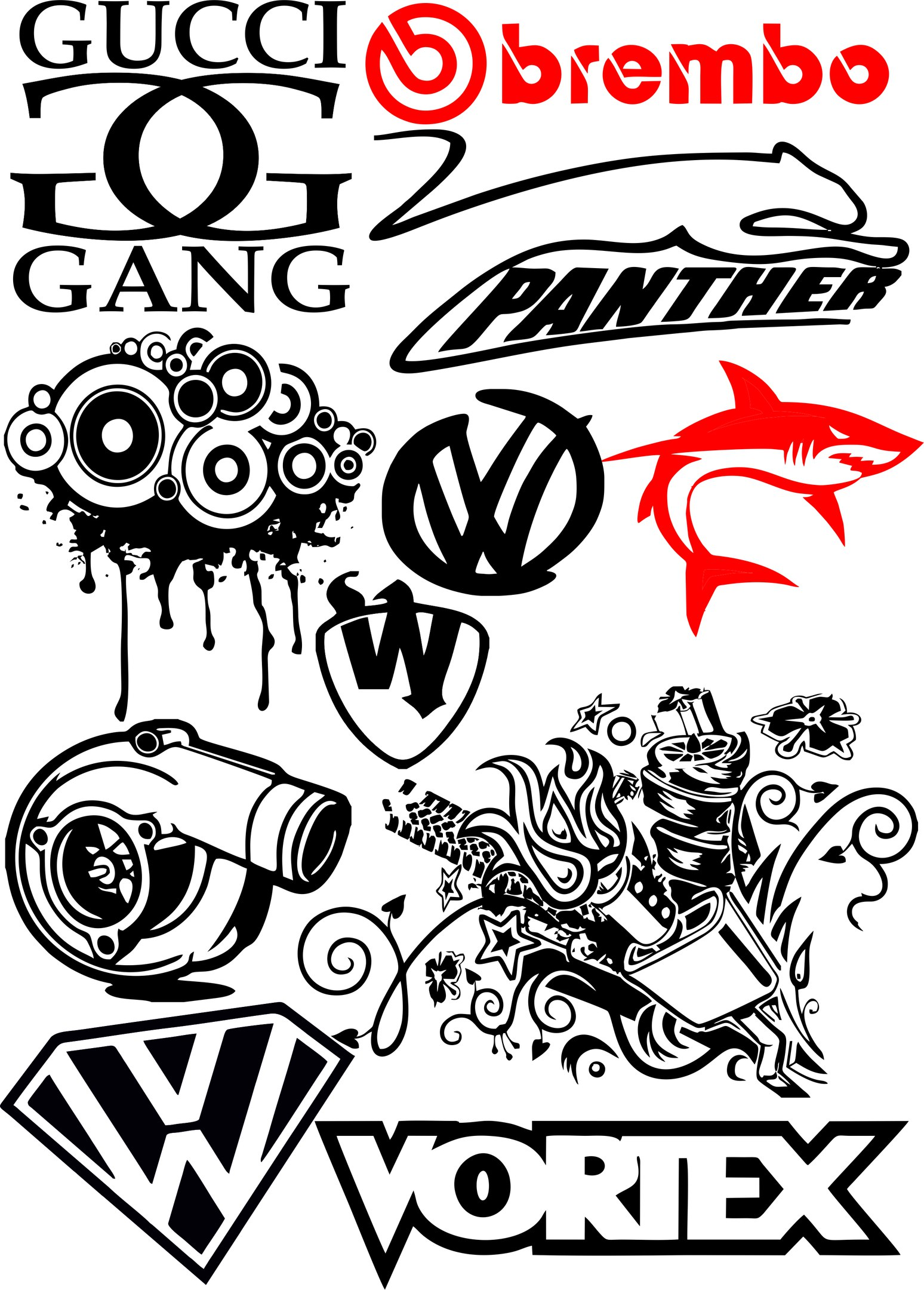 Free vector packs | vector & photoshop brushes | stock graphic designs.