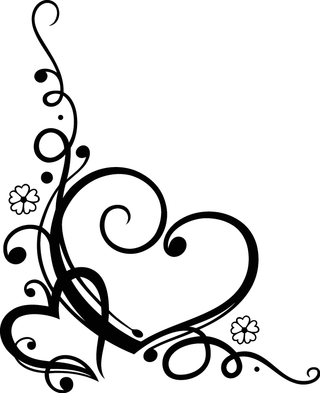 Download Love Heart Floral (.eps) Free Vector Download - 3axis.co