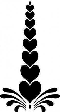 Heart Design EPS File
