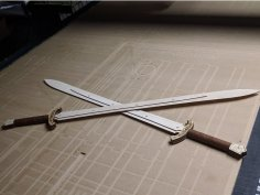 Swords dxf File