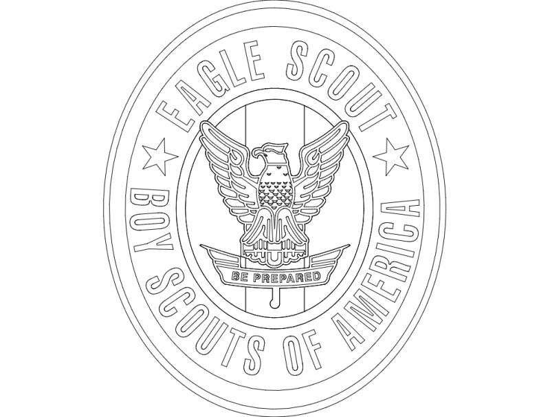 Eagle Scout Dxf File Free Download 3axis Co