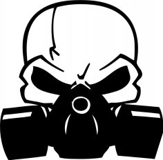 Scull Decal CDR File