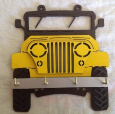 Jeep Key Holder CDR File