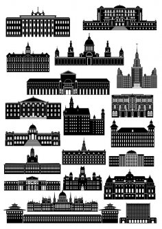 Buildings CDR File