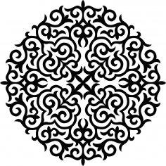 Ornament Stencil CDR File