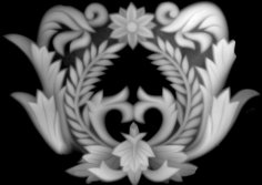 3d Relief Art BMP File