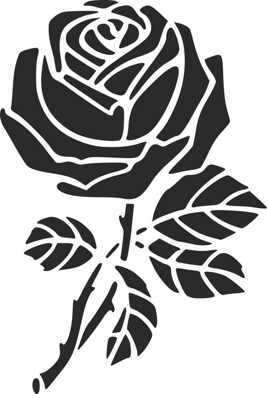 Rose Stencil Dxf File Free Download 3axis Co