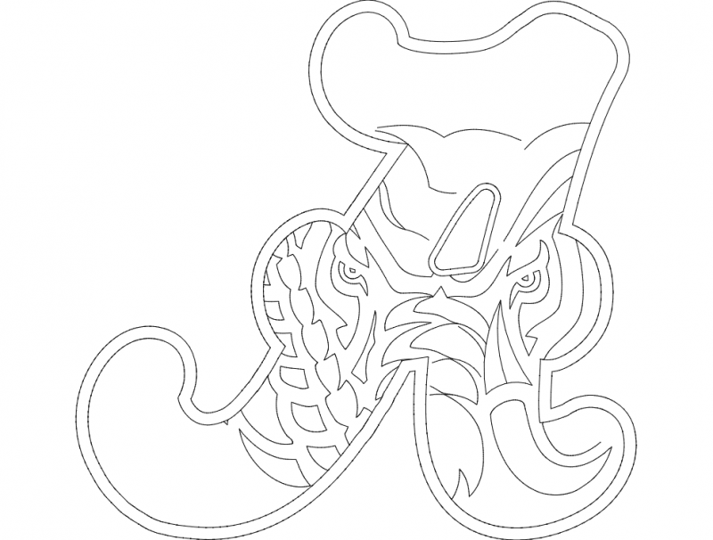 Alabama Elephant A Dxf File Free Download 3axis Co
