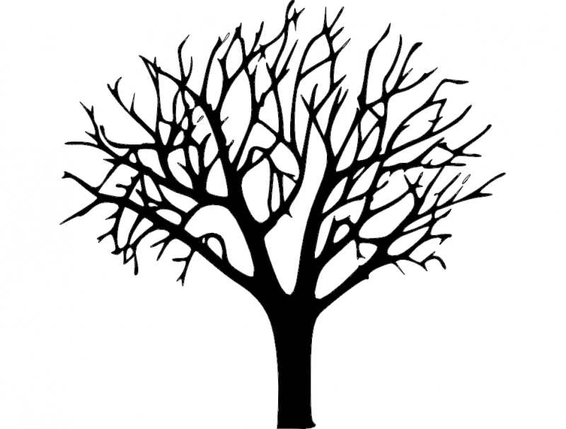 Bare Tree Dxf File Free Download 3axis Co