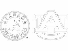 Alabama (1) dxf File