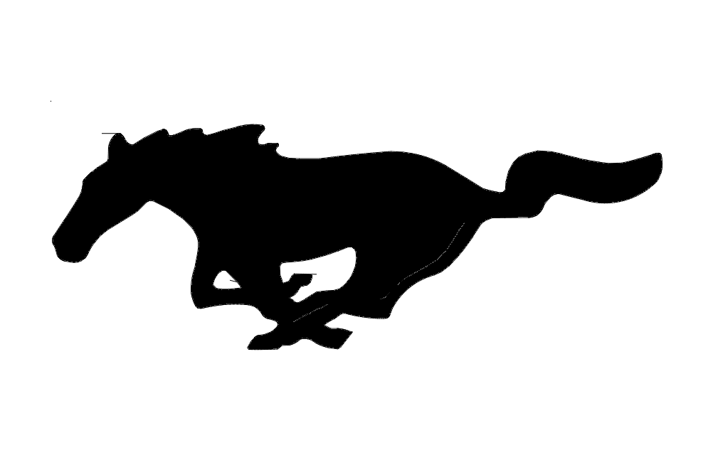 mustang horse outline dxf file free download 3axis co clip art horse head profile clip art horse head drawing